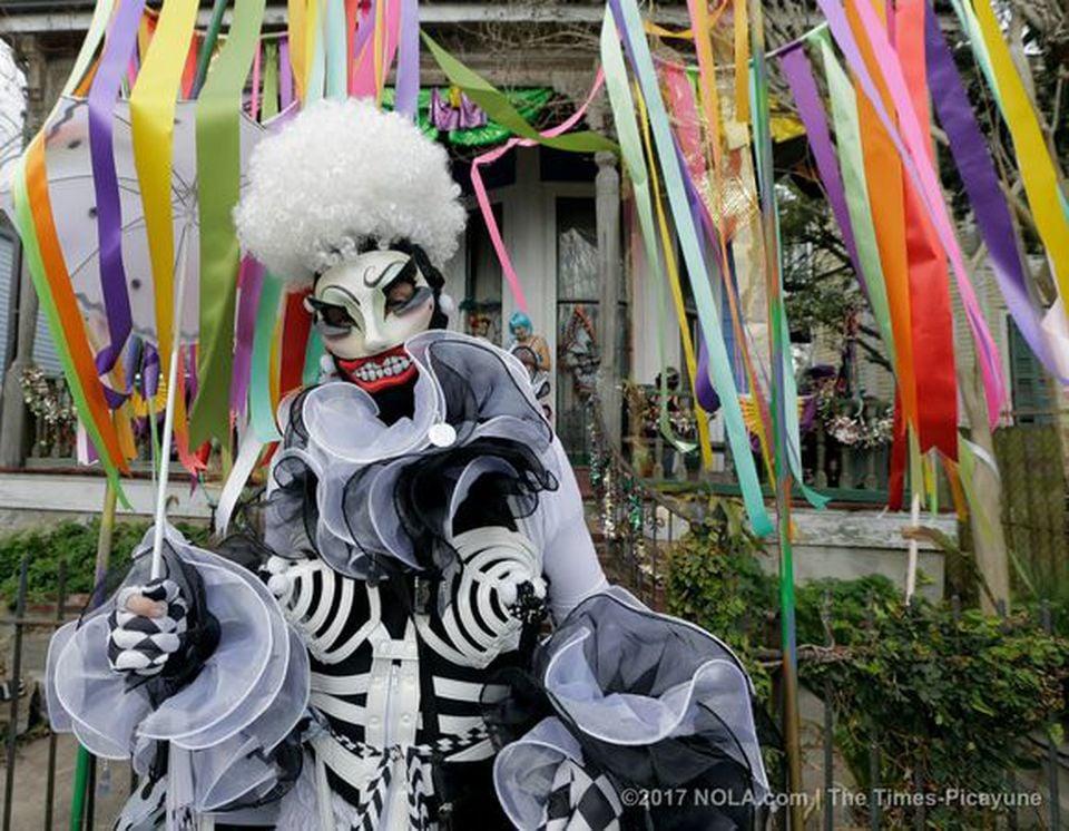 The Societe de Sainte Anne Mardi Gras marching group turns 50