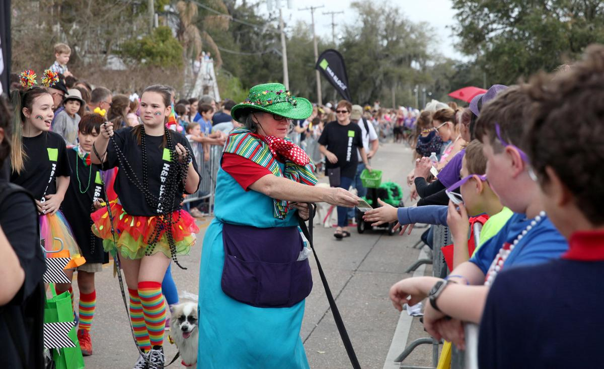 'Circus' of fur hits the Mandeville lakefront for Mardi Paws
