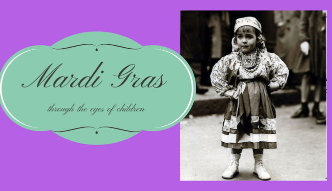 Mardi Gras, through the eyes of children: Vintage photos from The Times-Picayune