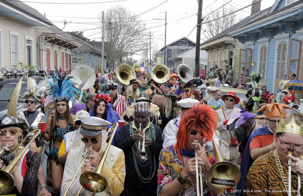 Mardi Gras 2017 by the numbers: From guns seized to parking tickets