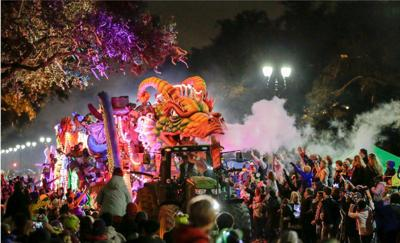 Lundi Gras Parade Cam: Watch Krewes of Proteus and Orpheus roll live