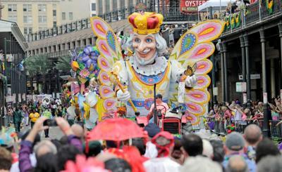 Mardi Gras Parade Cam: Watch Rex roll live