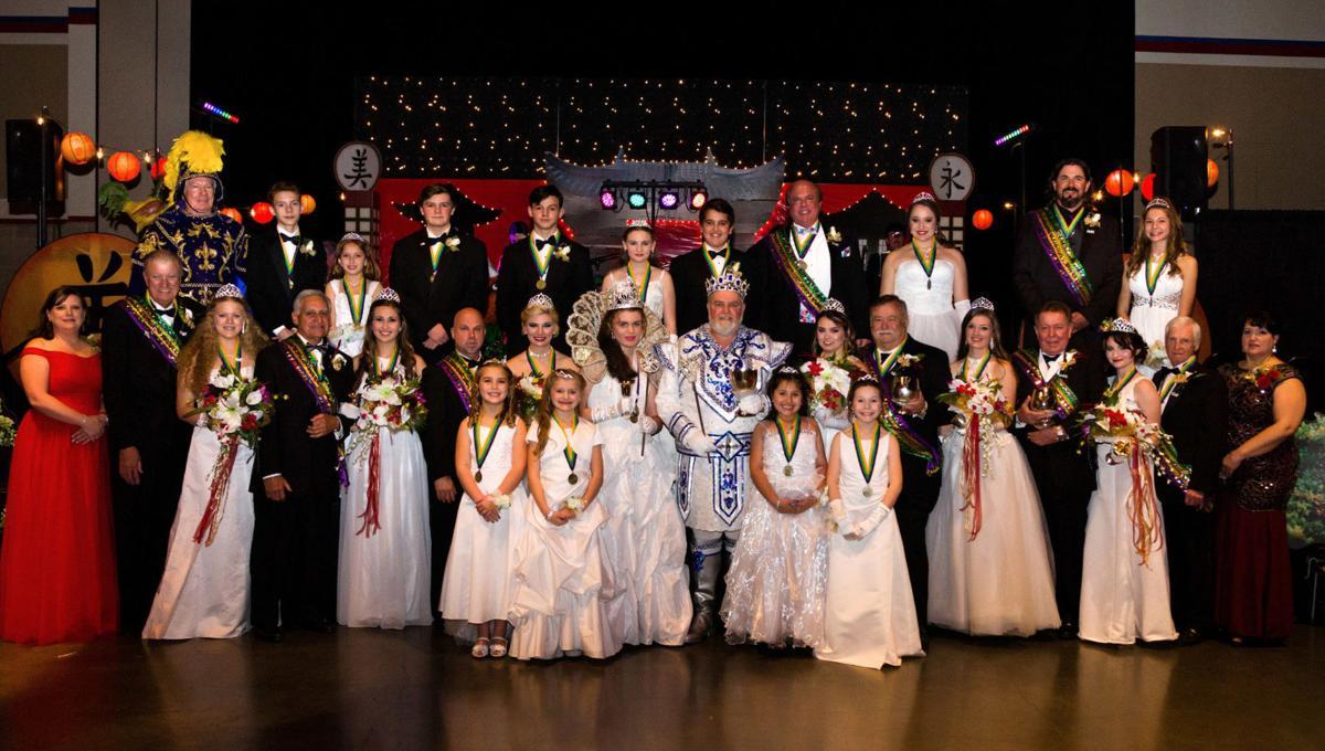 2017 Krewe of Bilge royalty