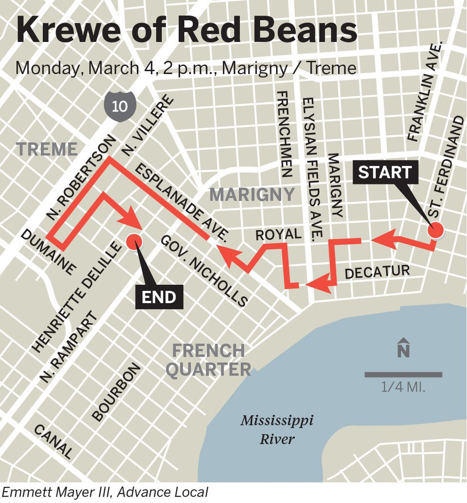 After Esplanade crash, Red Beans Parade will memorialize member killed