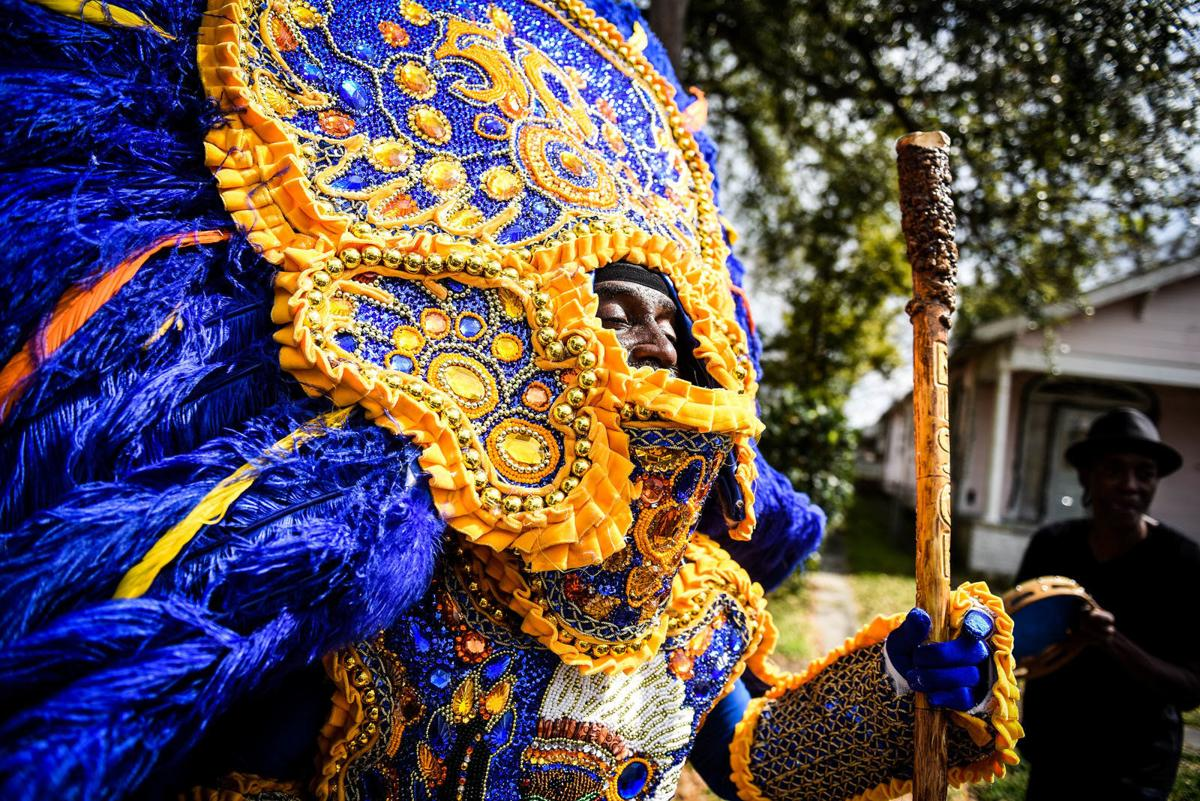 Mardi Gras Indian Big Chief celebrates 50 years of masking