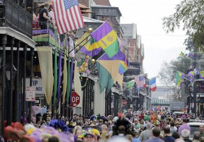 Forecast looks good for Mardi Gras day in New Orleans