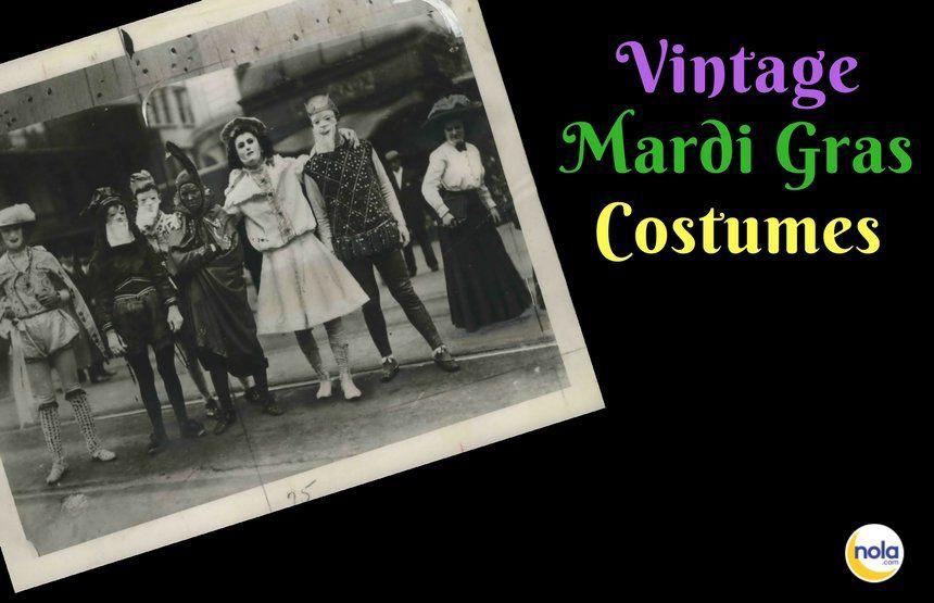 20 vintage Mardi Gras costumes