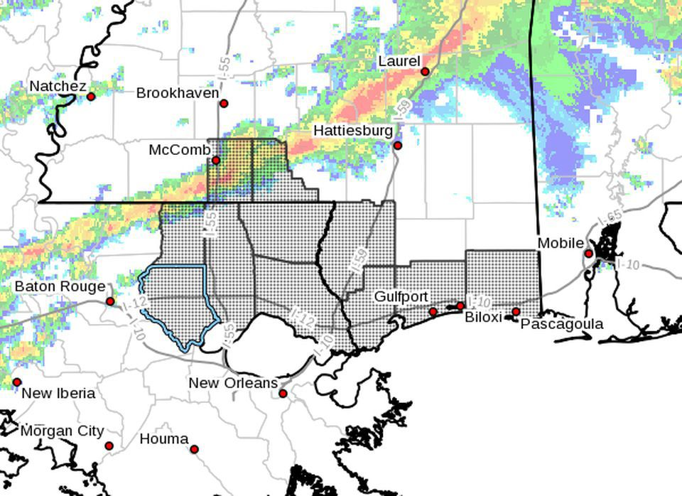 Tornado watch for North Shore until 6 p.m. Sunday