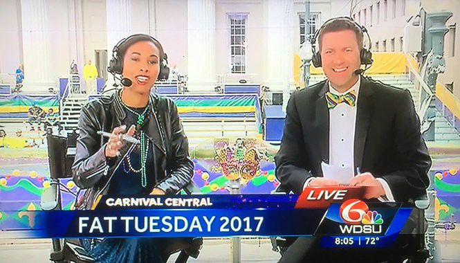 Mardi Gras 2017: Check out the costumes of New Orleans' TV anchors