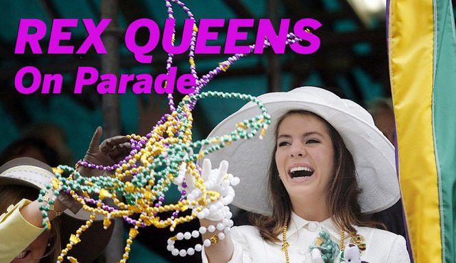 Rex Queens on parade