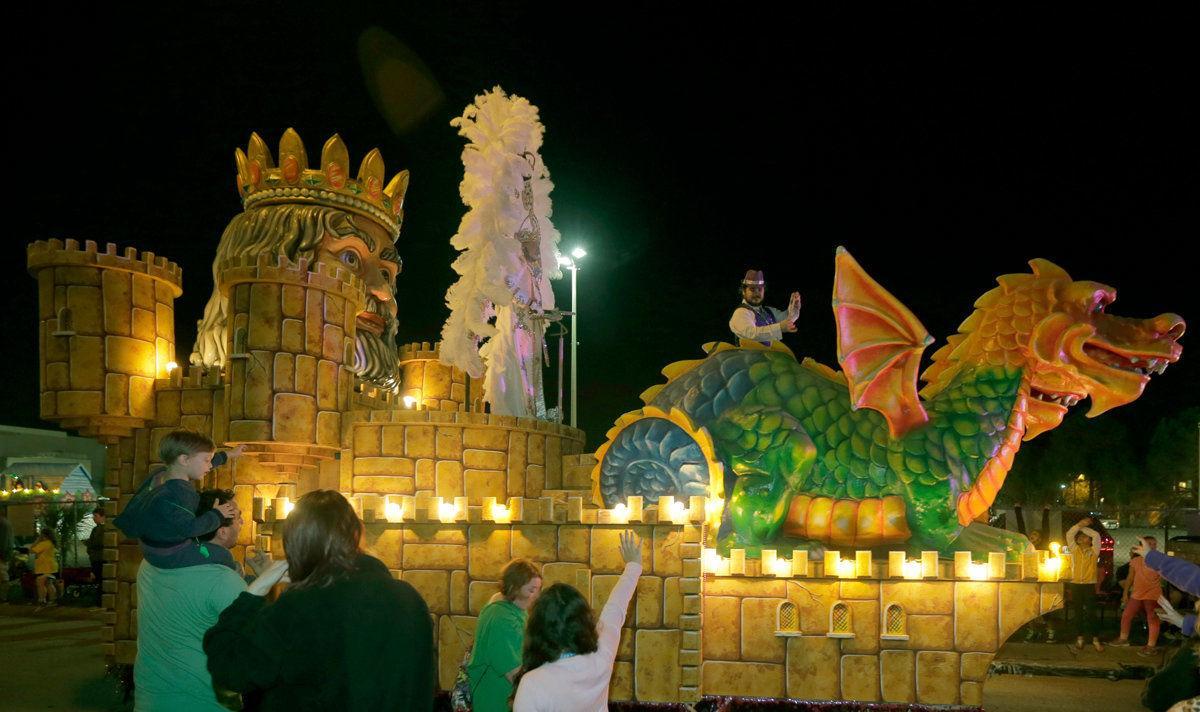 For Mardi Gras season in Metairie, Excalibur drops Bonnabel, Pandora tries comeback
