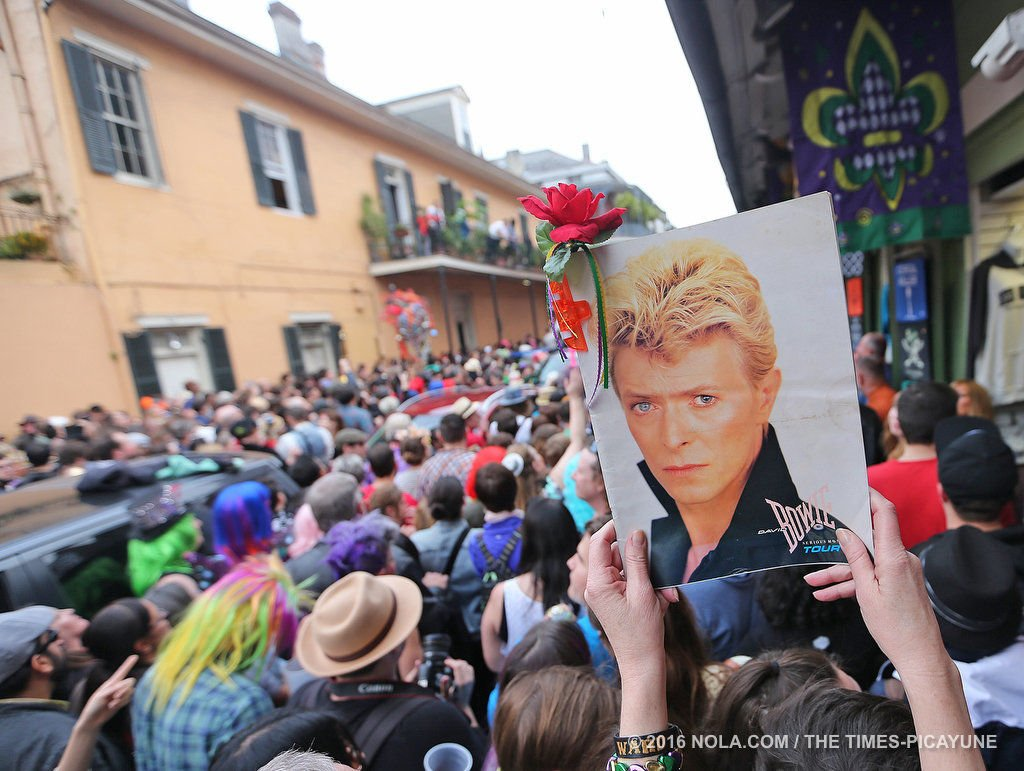 Are Princess Leia/Prince/David Bowie-style memorial parades here to stay?