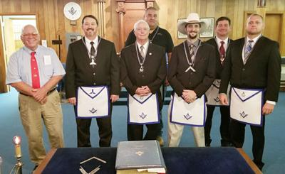 Masonic Lodge Officers