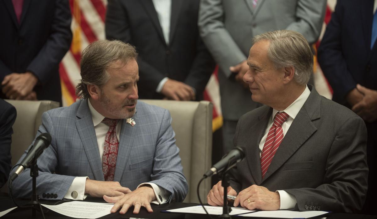 Gov. Greg Abbott signs voting bill into law in Tyler