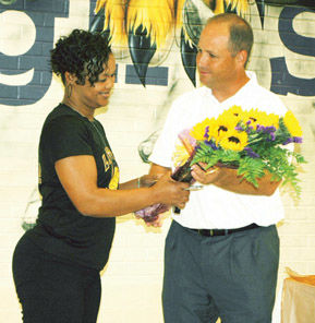 Volleyball coach gets 400th win and still going