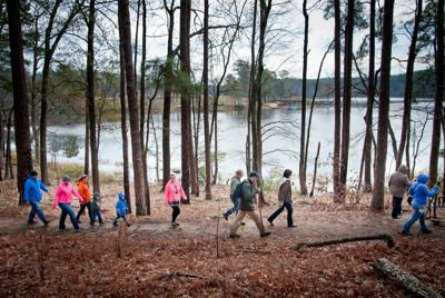 First Day Hikes: E. Texans start their new year off with walk in state park