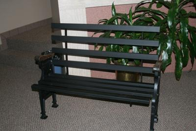 Bench sale will support Marshall's Memorial City Hall renovation project