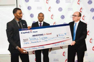 Wiley College awarded grant for financial literacy program