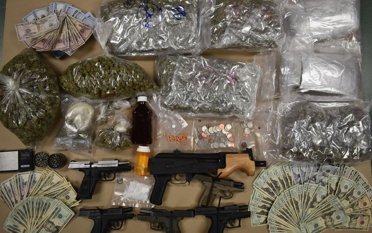Three nabbed in North Grove St  drug bust | General