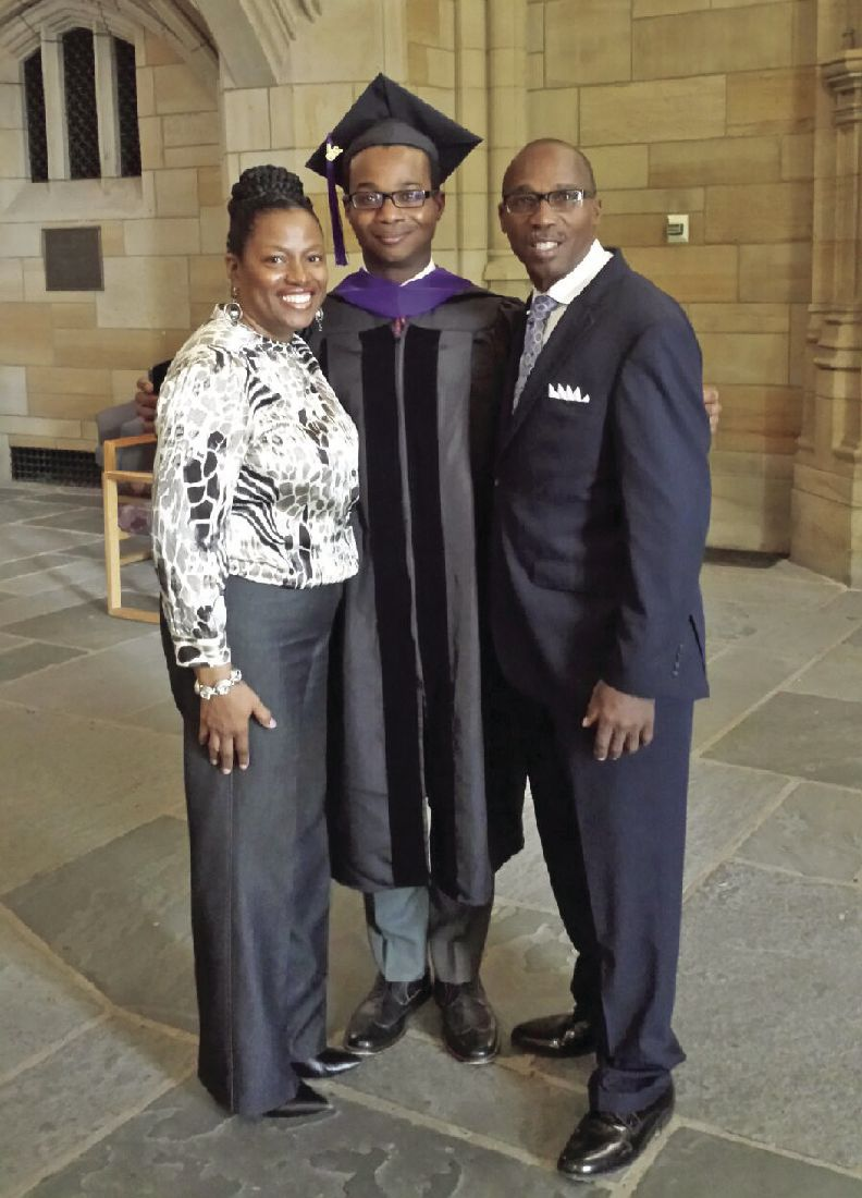 Marshall native's son graduates from Yale Law School