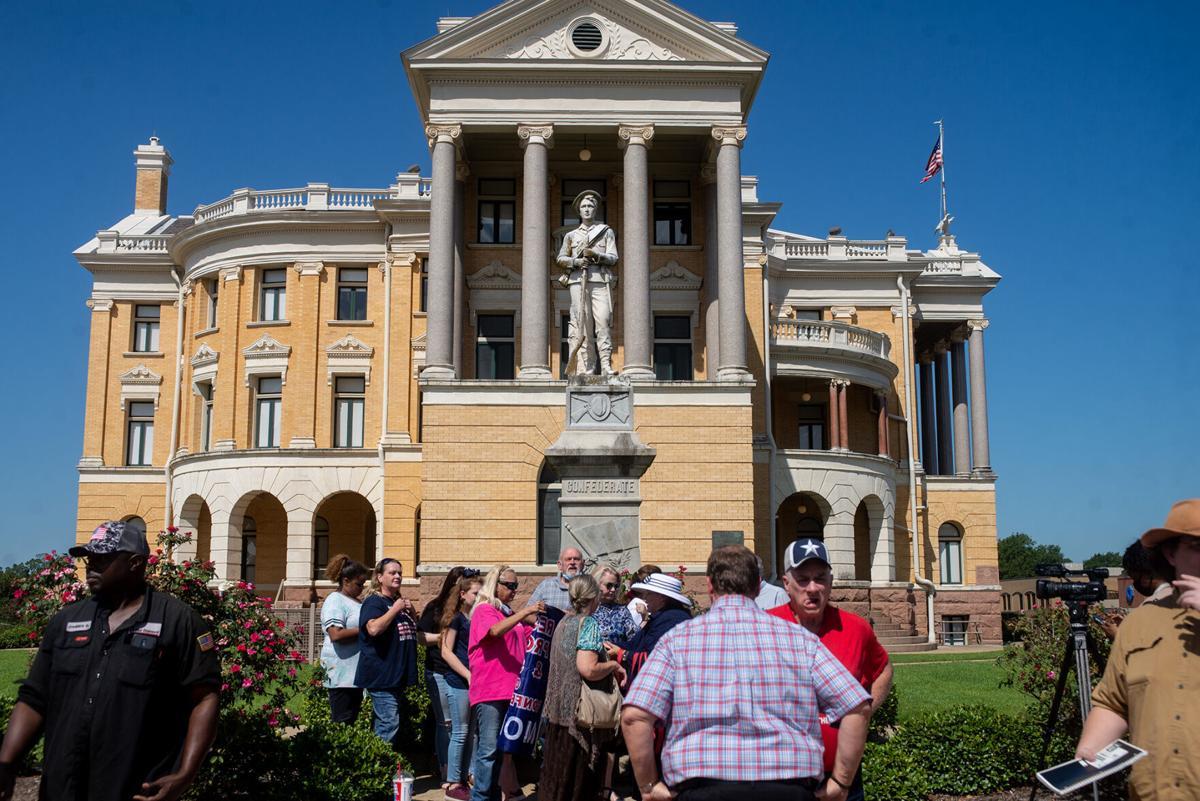 Harrison County Confederate Statue
