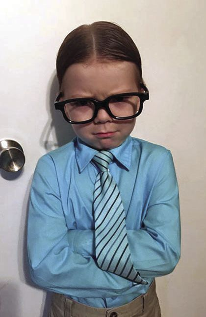 dress up like a nerd