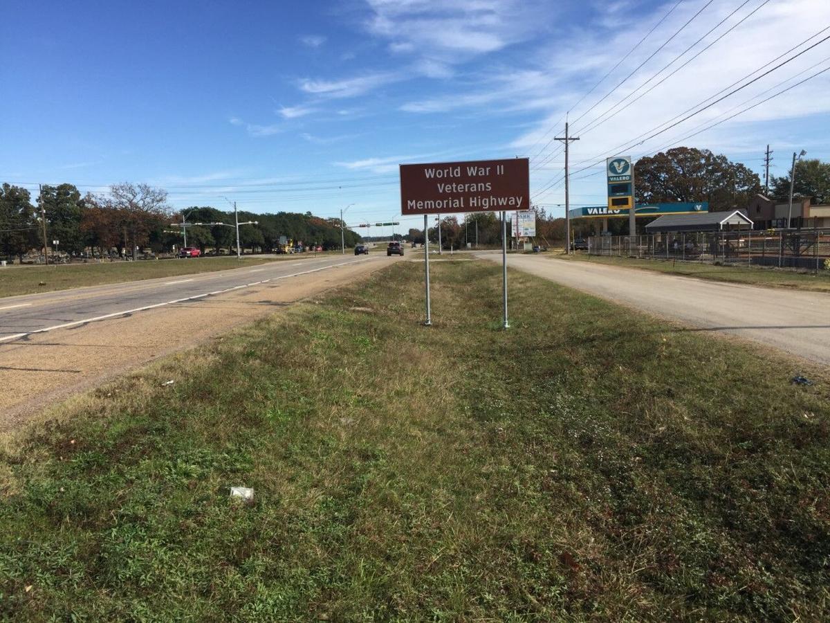 Longview WWI signage