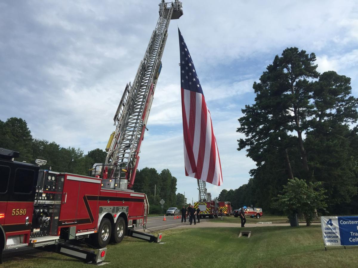 Community pays respects to former fire marshal at funeral