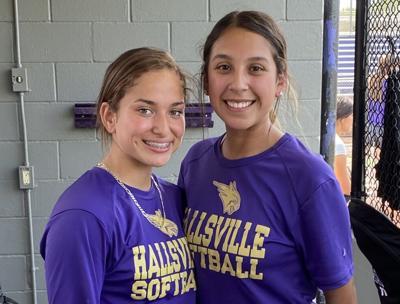 Hallsville softball