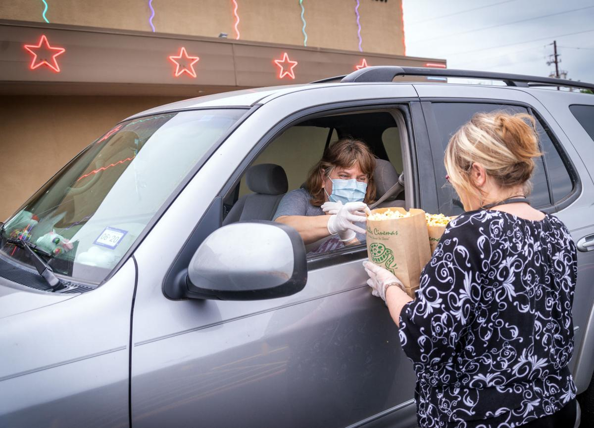 Drive Thru Popcorn The Main Draw At Shuttered 4 Star Cinema In Kilgore Features Marshallnewsmessenger Com