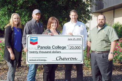 Chevron Panola donation