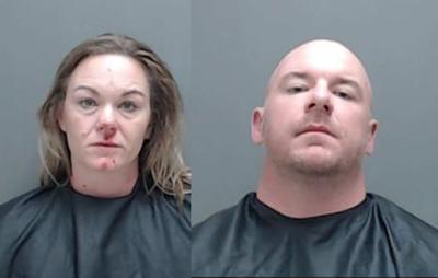 2 arrested after Harrison County Sheriff's Office finds 40 kilos of steroids, home lab