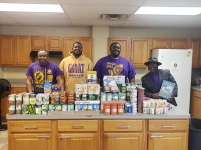 Fraternity Food Drive