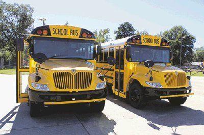 New Buses Arrive For Misd Fleet News Marshallnewsmessenger Com