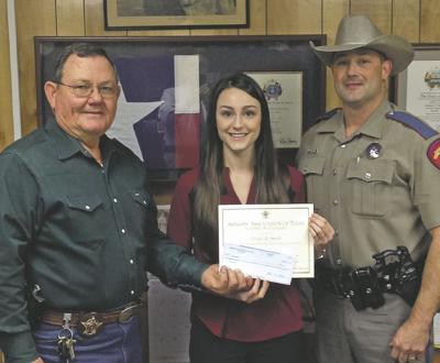Harrison County Sheriff presents scholarship | News