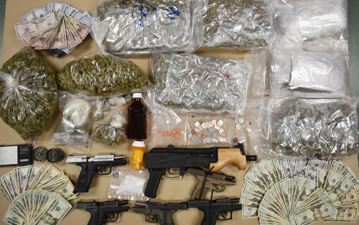 Drug Gun Seizure