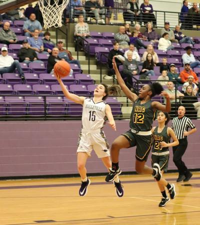 Hallsville girls basketball
