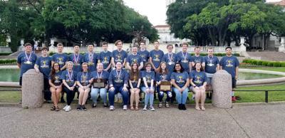 Hallsville High School State UIL team 2019