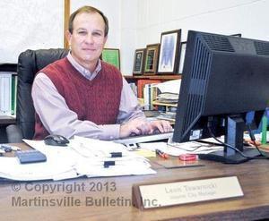 Martinsville City Manager Leon Towarnicki