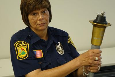 Local police officers, deputies prepare for today's torch