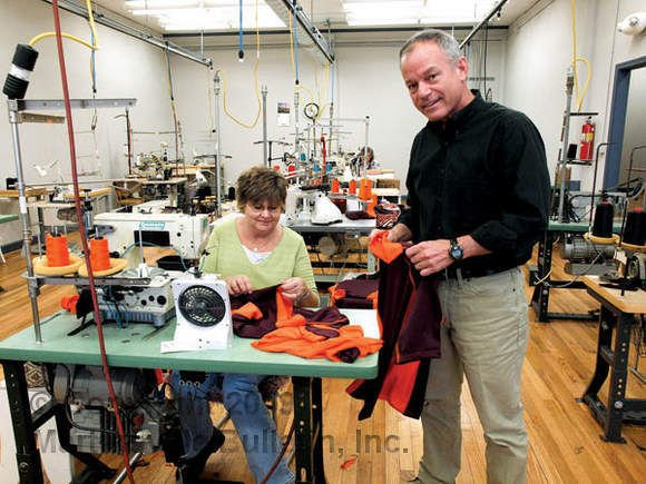 Sewing returns to uptown in effort to revive industry