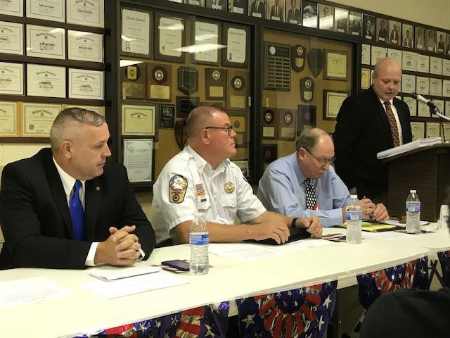 Sheriff's candidates meet-and-greet