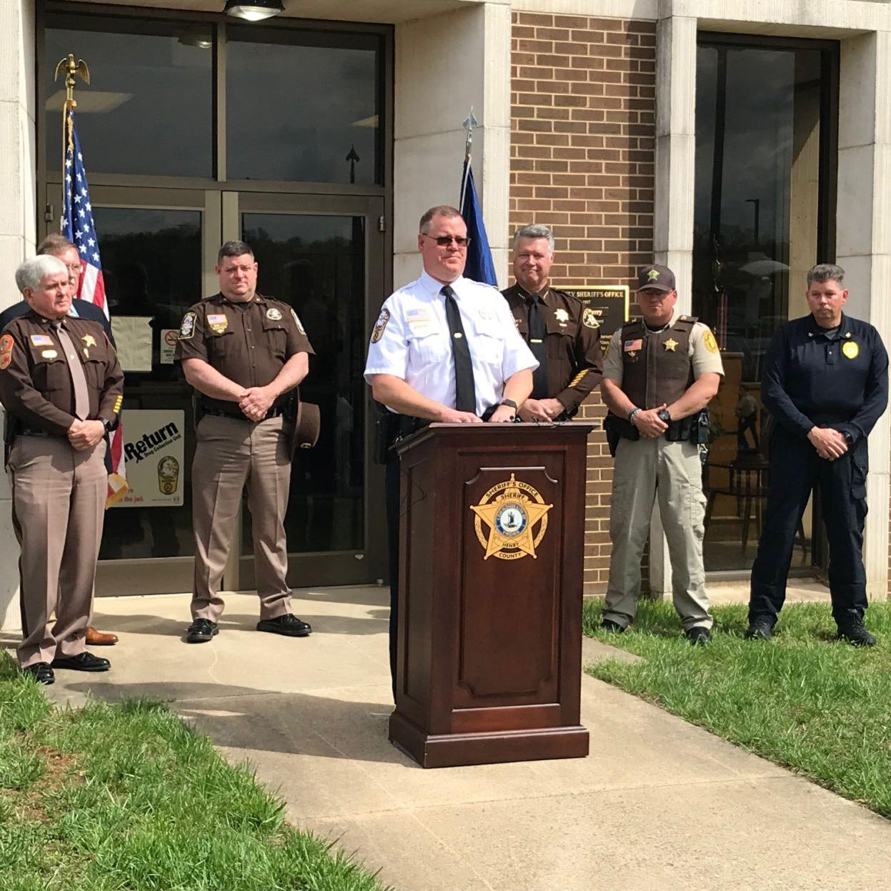Henry County Sheriff Lane Perry's news event raises