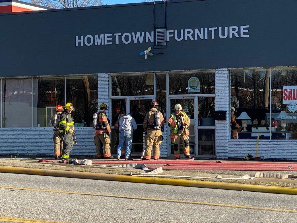 Hometown Furniture fire