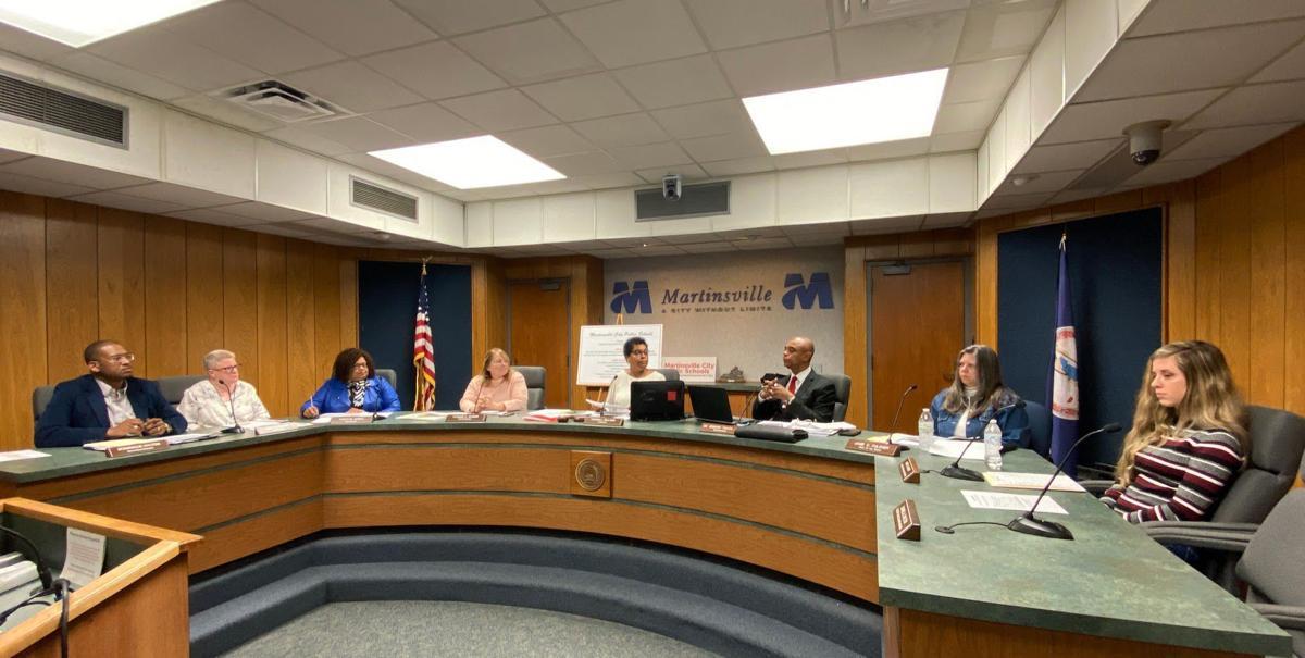 Martinsville schools budget