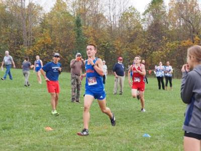 Bassett high school cross-country runner Jake Arnold has won races already against autism and epilepsy