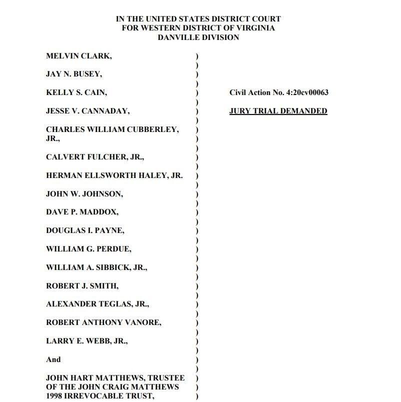 Stanley Furniture lawsuit