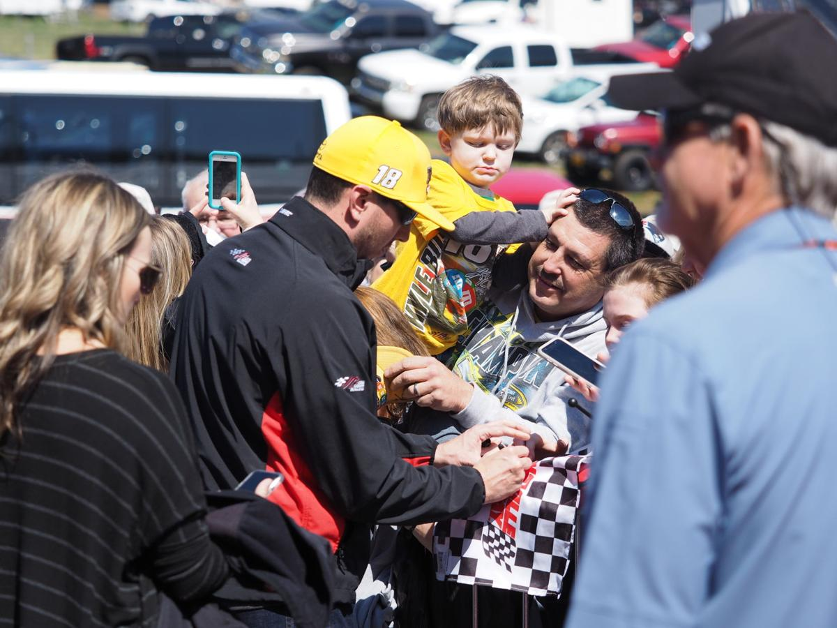 Drivers and fans