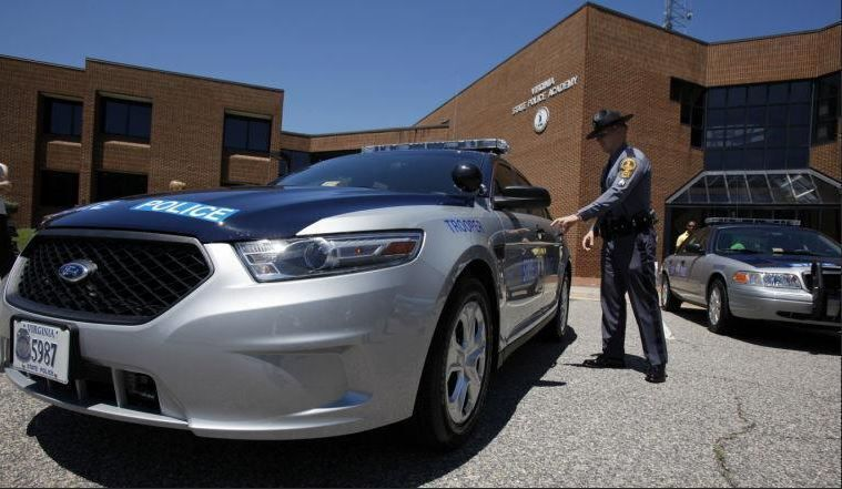 Virginia State Police Ford Taurus police cruiser