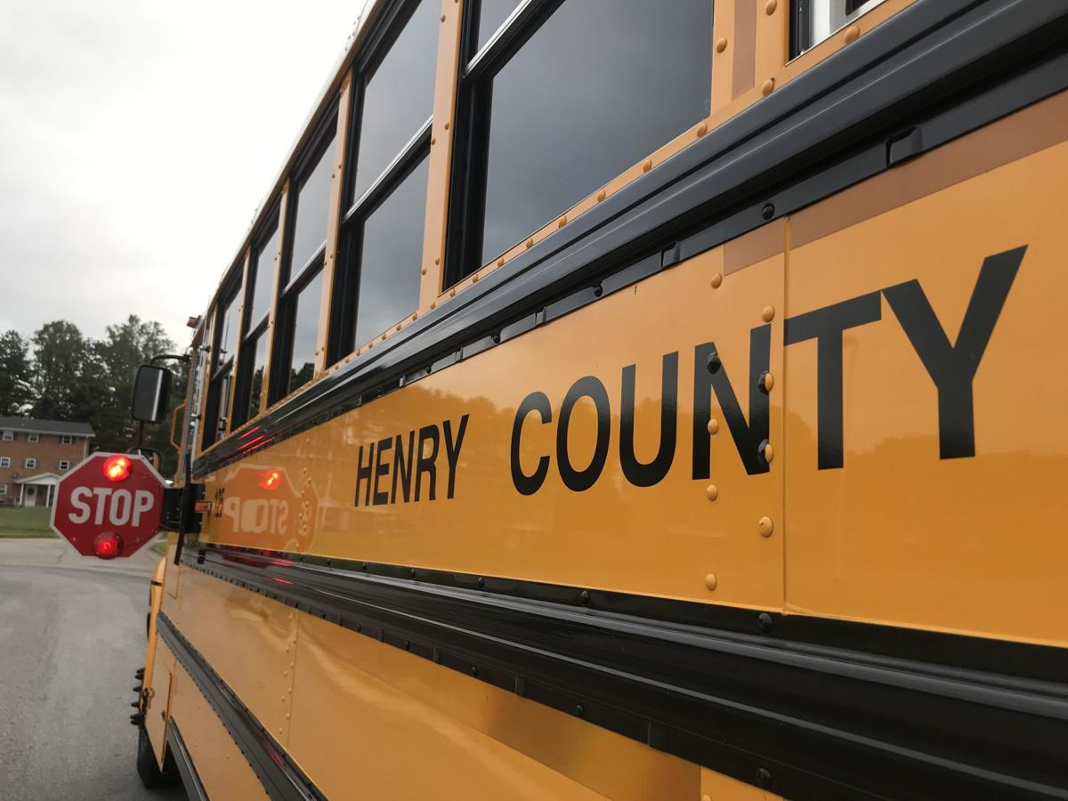Henry County Public Schools bus meal delivery